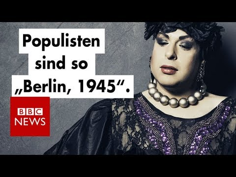 The drag queens spoofing Germany's far-right party - BBC News