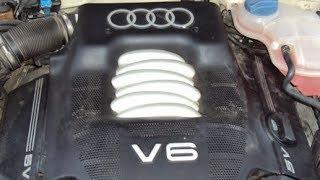 Чем V6 лучше 1.8Т?? Тех обзор Audi A4 B5 с V6