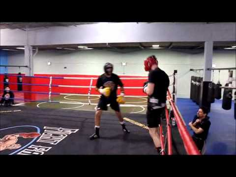 Amateur boxing lessons