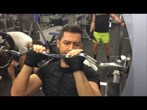 1. Hafta Arka Kol Antremanı 1. Bölüm - Incline Barbell Triceps Extension (3 Set, 14-18 Tekrar)