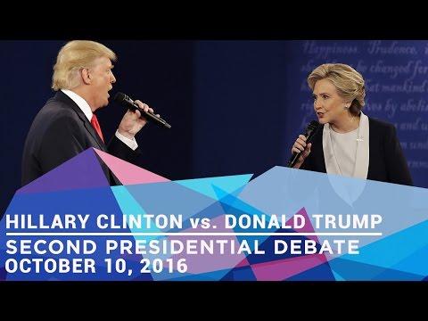 Second Presidential Debate [With Subtitles] , 2016 (Hillary Clinton vs. Donald Trump)