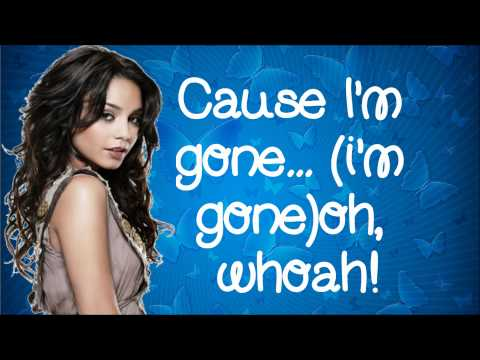 Vanessa Hudgens/Gabriella Montez- Walk Away (Lyrics) HSM3