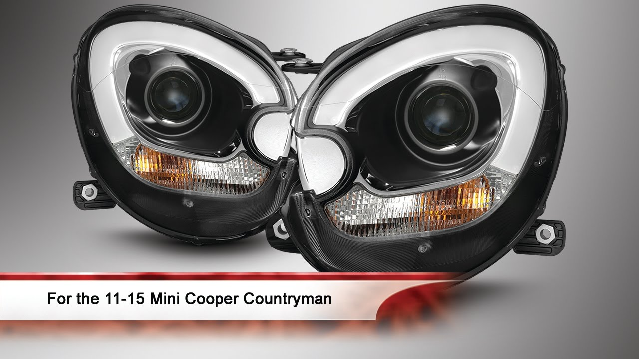 11 15 Mini Cooper Countryman Projector Headlights Youtube