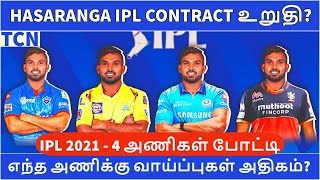 IPL 2021 replacement : 4 Franchises want Wanindu Hasaranga   IPL 2021 UAE Analysis   IPL 2021 Tamil