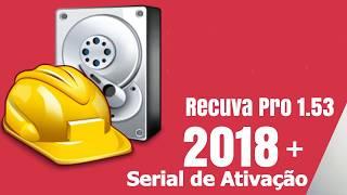 Gambar cover Recuva Pro 1.53 + Serial de Ativação 2018 100% Funcionando
