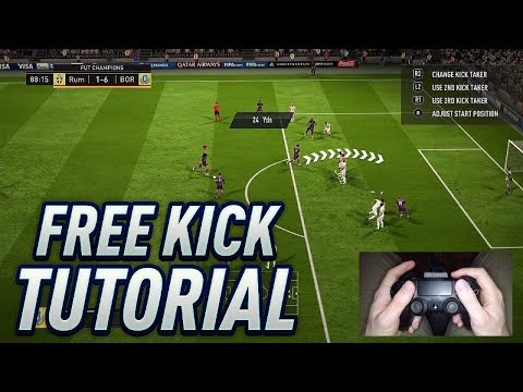 HOW TO SCORE FROM ALMOST EVERY FREE KICK IN FIFA 18