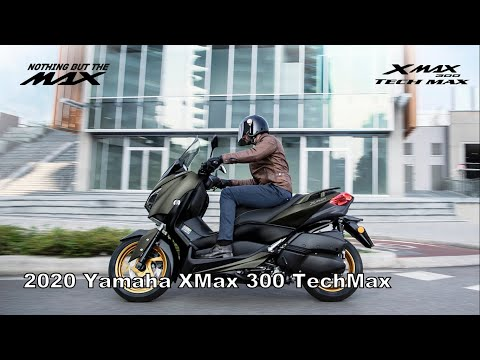 2020 Yamaha XMax 300 TechMax Scooter - There's no turning back!