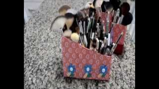 Faça seu porta pincéis reciclável por Blog Bonita e Maquiada