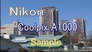 4K Nikon Coolpix A1000 video sample