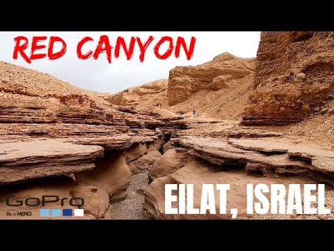 The amazing RED CANYON - Eilat Israel 2018 GOPRO 7