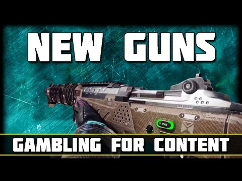 The New Guns in Black Ops 3... | Fury's Song Sword Gameplay