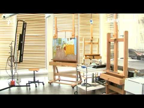 De Slaapkamer van Vincent van Gogh - De restauratie - YouTube