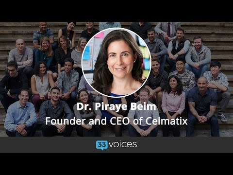 How Celmatix Puts Women in Charge of Their Health with Founder and CEO Dr.Piraye Beim