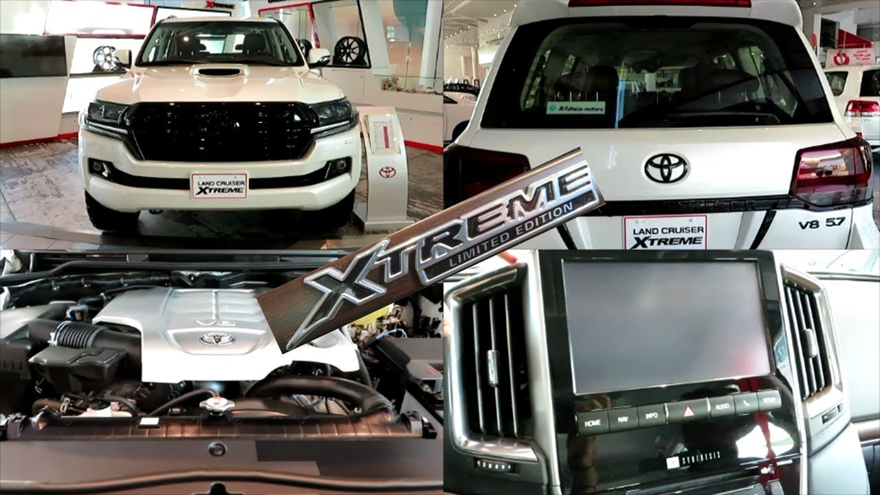 Toyota Land Cruiser 2018 Xtreme Limited Edition 5 7l V8 Engine