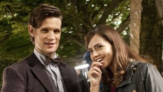 KAREN & ARTHUR's Advice for New Companion Jenna-Louise Coleman - BBC America Exclusive