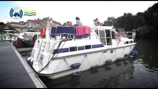 Location de péniche sans permis en Bourgogne avec FPP Travel / Les Canalous