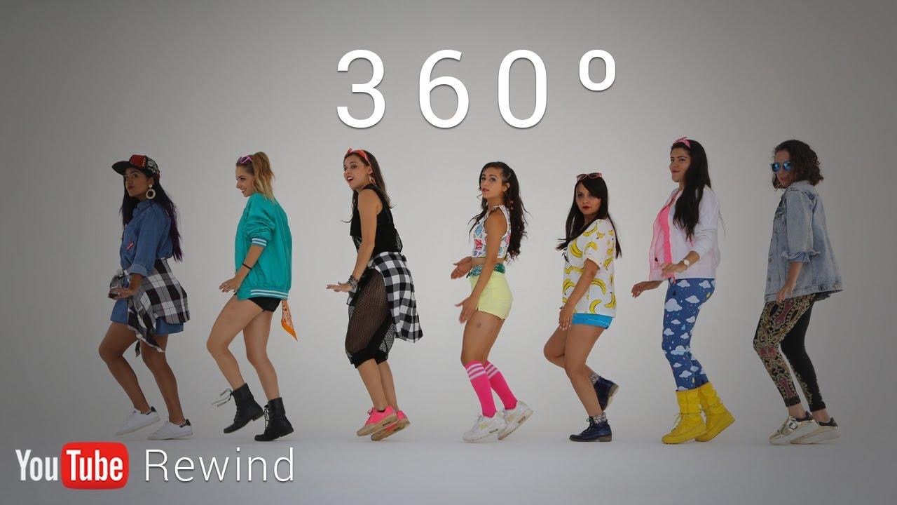 Youtube Rewind 2016 Epic Group Running Man Challenge In 360 Youtuberewind Youtube