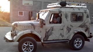 Навороченный ГАЗ 69 (heaped up Gaz 69)