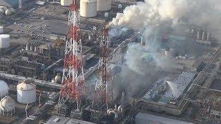 21日午後4時40分ごろ、大阪府高石市高砂1丁目の三井化学大阪工場で火災...