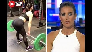 Sky Sports beauty Kirsty Gallacher leaves fans drooling over sizzling workout video