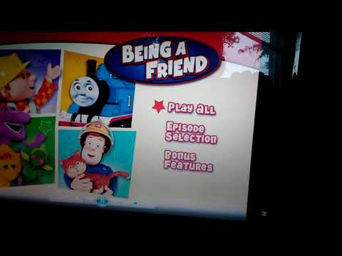 Hit Entertainment Favorites Being A Friend 2010 DVD Menu Walkthrough
