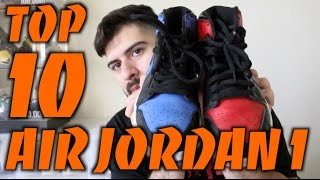 Top 10 Air Jordan 1 In My Collection!