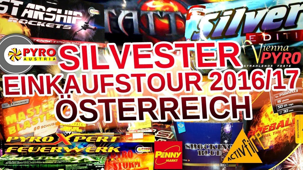 Silvester Feuerwerk Einkaufstour österreich Wien 2016 17 Full Hd