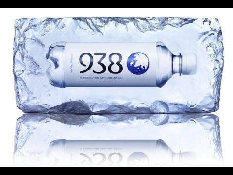 """""""938"""" – natürliches basisches Quellwasser aus Grönland"""