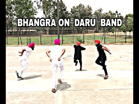 BHANGRA | MANKIRT AULAKH - DARU BAND| Latest Punjabi Songs 2018 | BHANGRA PERFORMANCE 2018