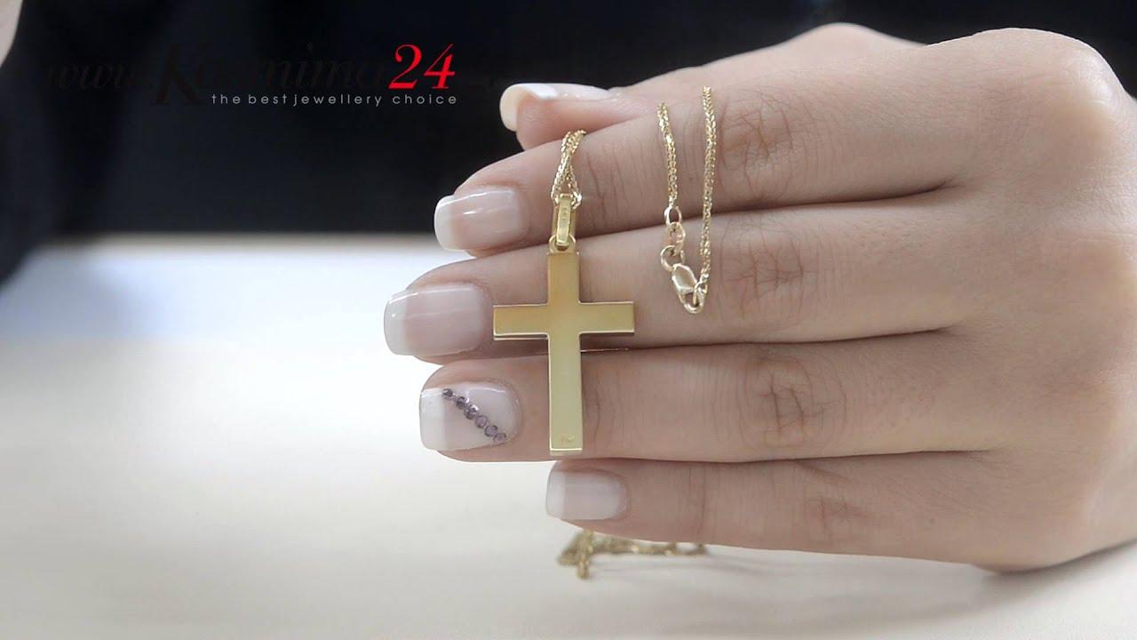 ανδρικοι σταυροι απο χρυσο 18Κ - YouTube ac661e5b535