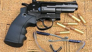 ASG Dan Wesson 2.5 inch black CO2 airsoft revolver review