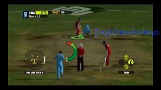 India Cricket Gameplay!!! (PC) England vs India 2009
