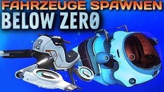 Subnautica Below Zero SNOW FOX And Sea Truck CHEATS Deutsch German