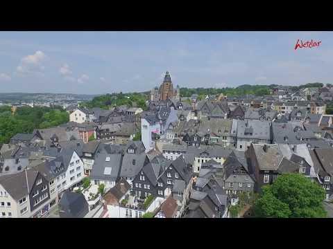 bid-AirCam Flugimage-Clip Stadt Wetzlar