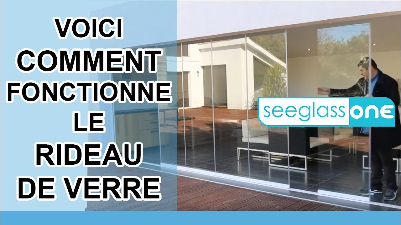 fermeture de terrasse et balcon utilisation du rideau de verre seeglass one glass systems. Black Bedroom Furniture Sets. Home Design Ideas