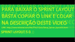 BAIXAR SPRINT LAYOUT 5.0 GRATIS
