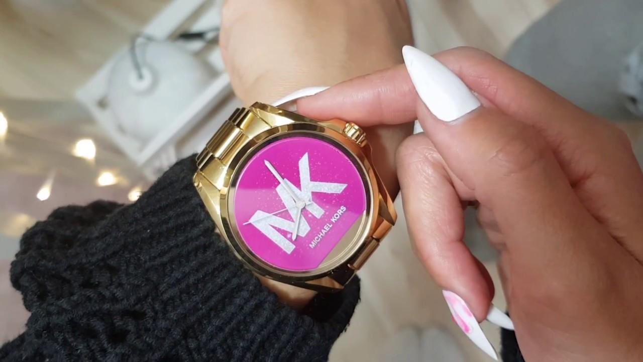 Boskiepaznokcie Michael Kors Smart Watch Mkt5001 Bradshaw