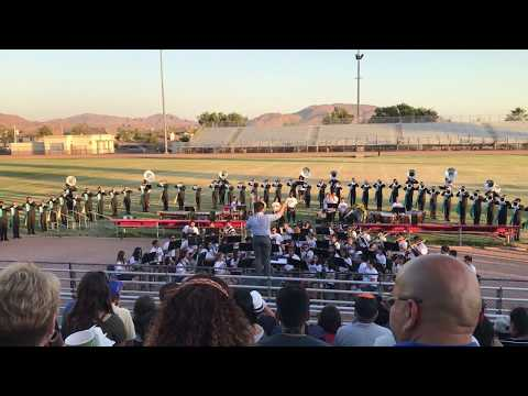 Pacific Crest Drum and Bugle Corps with MVUSD Honor Band