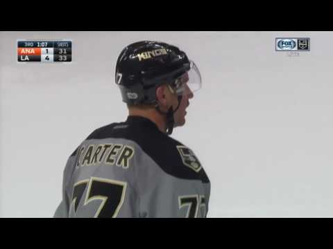 Jeff Carter Scores Empty Netter | Kings Lead Ducks 4-1