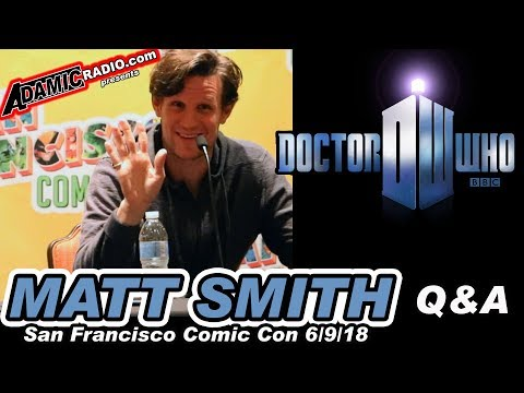 Doctor Who Matt Smith Q & A from San Francisco Comic Con 6918