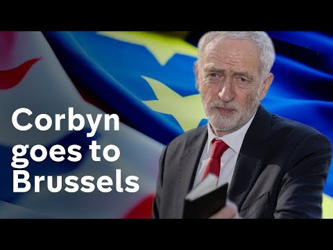 Corbyn in Brussels to break Brexit deadlock