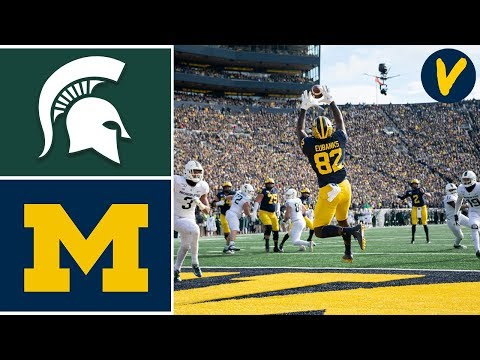 Michigan State vs #15 Michigan Highlights | Week 12 | Colleg