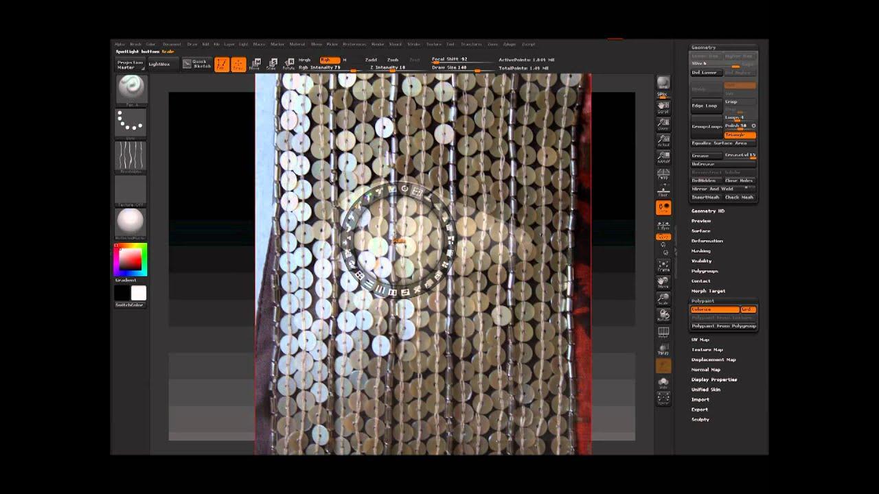 Zbrush & Second life mesh