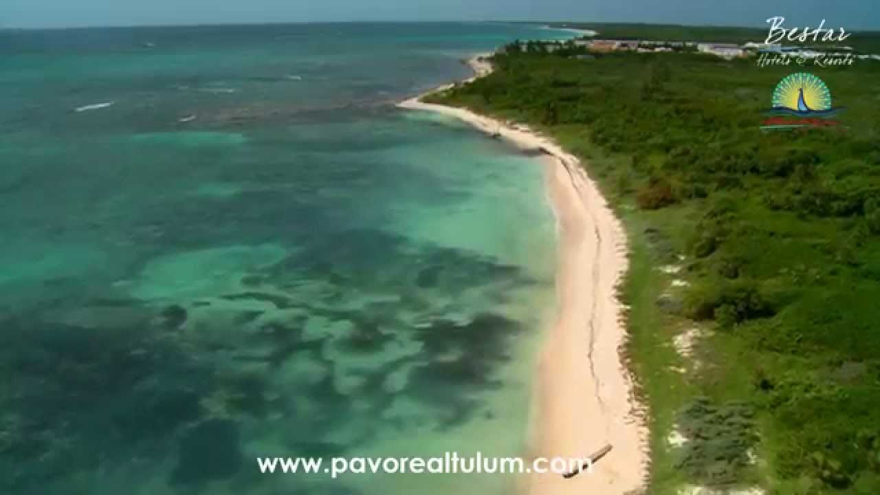 Pavoreal Beach Resort Tulum Aerial Video