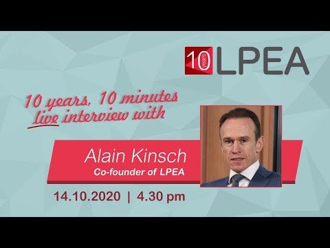 10 years 10 minutes with Alain Kinsch