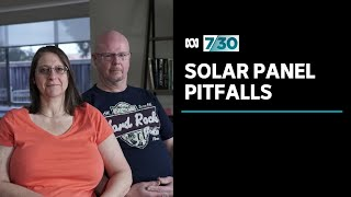 Solar panel installations in Australia are growing - but what happens if things go wrong? | 7.30