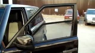 Kumanda ile değişen cam filmi