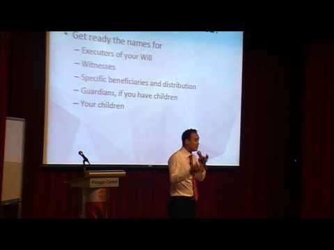 Preparing Wills & Trusts - Paul See (Chinese)