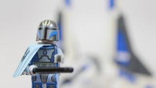 LEGO Star Wars Pre Vizsla's Mandalorian Fighter Review 9525