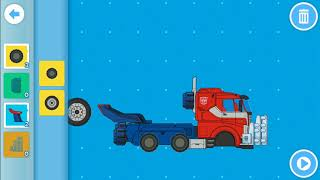 Mcplay Be an Inventor Transformers: Launching Optimus Prime!